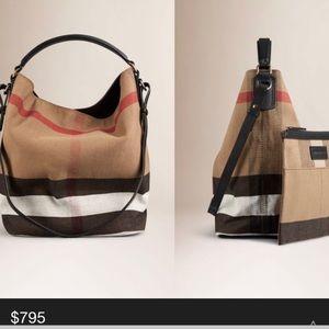 Pre-loved Burberry Ashby Check Bag